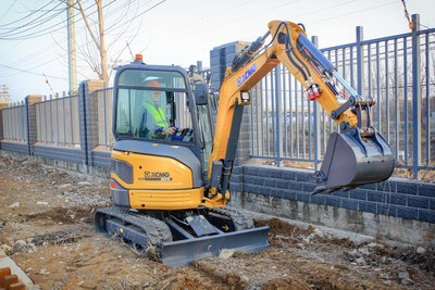 XCMG Launches Much-Anticipated 2.7-Ton XE27E/U Compact Excavator.