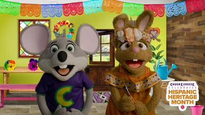 Chuck E. Cheese® celebra el Mes de la Herencia Hispana (PRNewsfoto/CEC Entertainment, LLC)