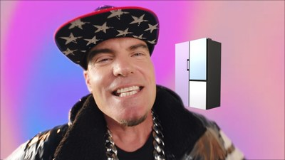 """Vanilla Ice partners with Samsung Electronics to re-release hit single """"Ice, Ice Baby"""" as """"Reduce Your Ice, Ice Baby"""" (PRNewsfoto/Samsung Electronics Co., Ltd.)"""